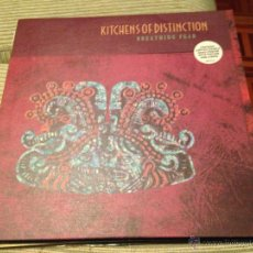 Discos de vinilo: KITCHENS OF DISTINCTION - BREATHING FEAR - MAXI UK INDIE POP + POSTER. Lote 52142225