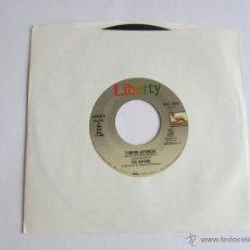 Discos de vinilo: VAPORS - TURNING JAPANESE/TALK TALK SINGLE 1980 USA * FUNDA DE PLASTICO TRANSPARENTE. Lote 52144180