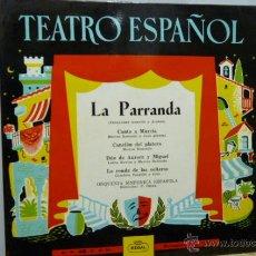 Discos de vinilo: LA PARRANDA EP.. Lote 52144559