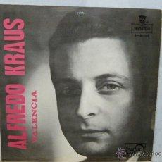 Discos de vinilo: ALFREDO KLAUS -VALENCIA Y 3 MAS. Lote 52144589