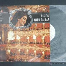 Discos de vinilo: DISCO VINILO RECITAL MARIA CALAS EDICICION ESPECIAL CIRCULO DE LECTORES LA VOZ DE SU AMO EMI DCL011. Lote 52150578
