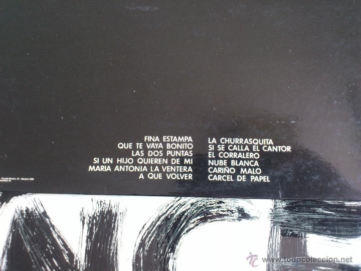 Discos de vinilo: MARIA DOLORES PRADERA - POR TIERRAS DE AMERICA - LP - VINILO - ZAFIRO - 1976 - Foto 4 - 52156109