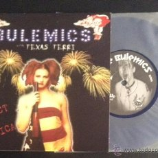 Discos de vinilo: SINGLE EP VINILO BULEMICS WITH TEXAS TERRI PRODUCT OF AMERICA PUNK ROCK. Lote 52156617