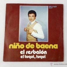 Discos de vinilo: SINGLE NIÑO DE BAENA. EL RESBALÓN - EL TUQUI, ELTUQUI.. Lote 52158099