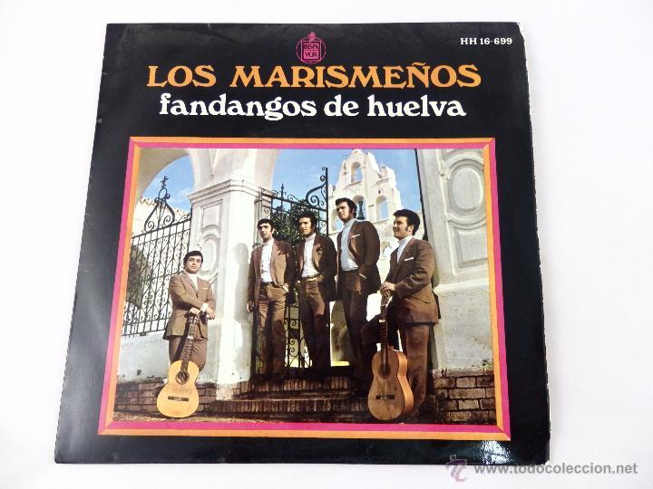 EP LOS MARISMEÑOS. FANDANGOS DE HUELVA. YO ME VOY A LA ALAMEDA- MIRA QUE BONITA ES... (Música - Discos de Vinilo - EPs - Flamenco, Canción española y Cuplé)