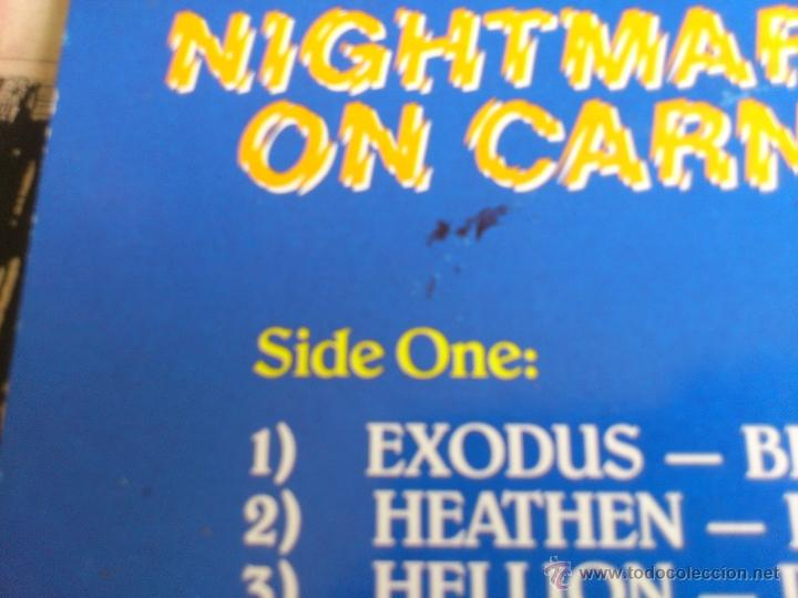 Discos de vinilo: NIGHTMARE ON CARNABY S.T - VARIOUS ARTISTS - DOBLE VINILO - LP - MUSIC FOR NATIONS - 1987 - Foto 5 - 52158713