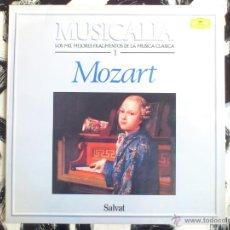 Discos de vinilo: MOZART - LOS MIL MEJORES FRAGMENTOS DE LA MUSICA CLASICA 1 - MUSICALIA - LP - VINILO - SALVAT - 1986. Lote 52159006