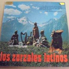 Discos de vinilo: LOS ZORZALES LATINOS - ANDES - GUARANI - PANAMBI - MUY BUEN ESTADO. Lote 52162454