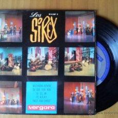 Discos de vinilo: LOS SIREX-MUCHACHA BONITA + DA DOO RON RON + SI DE MI TE ALEJAS + TWIST AND SHOUT EP VINILO 1964. Lote 52162528