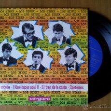 Discos de vinilo: LOS SIREX . LA ESCOBA + 3. EP. VERGARA 1965.. Lote 52162550