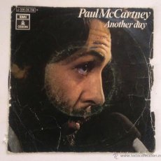 Discos de vinilo: DISCO 7PULGADAS - PAUL MCCARTNEY -OH WOMAN OH WHY / ANOTHER DAY. Lote 52162631