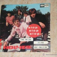 Discos de vinilo: THE HOLLIES -STOP STOP STOP +3- SPANISH EP-EMI ODEON DSOE 16706-. Lote 52162762