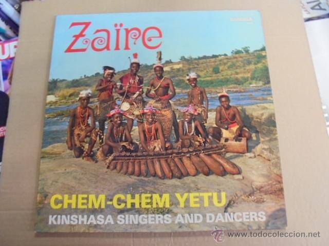 ZAIRE - CHEM CHEM YETU / KINSHASA SINGERS & DANCERS - AFRO BEAT ? - SANGELA (Música - Discos - LP Vinilo - Étnicas y Músicas del Mundo)