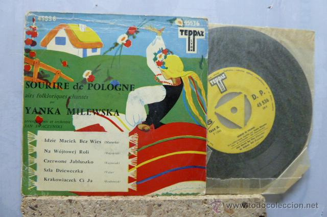 SOURIRE DE POLOGNE- CHANTE- YENKA MILEWSKA- (Música - Discos de Vinilo - EPs - Étnicas y Músicas del Mundo)