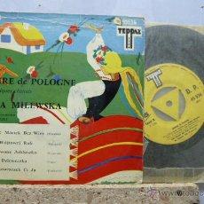 Discos de vinilo: SOURIRE DE POLOGNE- CHANTE- YENKA MILEWSKA-. Lote 52163429