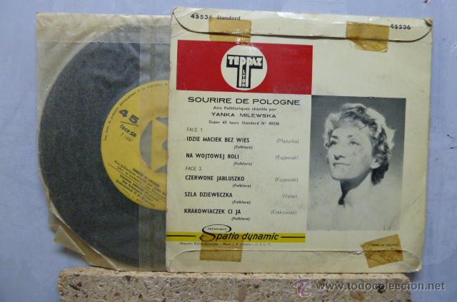 Discos de vinilo: SOURIRE DE POLOGNE- CHANTE- YENKA MILEWSKA- - Foto 2 - 52163429