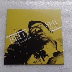 Discos de vinilo: BELUSHI - HOLE IN MY HEAD EP 3 TEMAS 2013 NUEVO A ESTRENAR PUNK ROCK. Lote 52164011