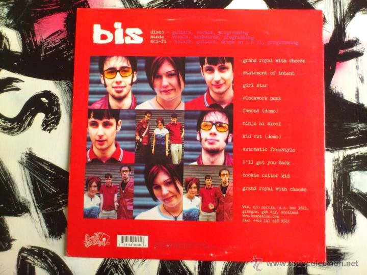 Discos de vinilo: BIS - INTENDO - LP - VINILO - CAPITOL - GRAND ROYAL - 1998 - Foto 2 - 52164587