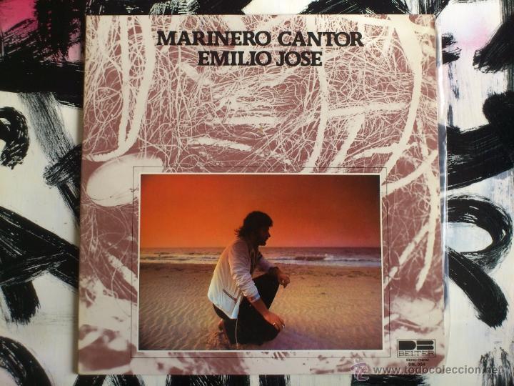 EMILIO JOSE - MARINERO CANTOR - LP - VINILO - BELTER - 1977 (Música - Discos - LP Vinilo - Solistas Españoles de los 70 a la actualidad)