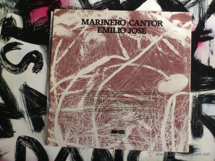 Discos de vinilo: EMILIO JOSE - MARINERO CANTOR - LP - VINILO - BELTER - 1977 - Foto 2 - 52164618