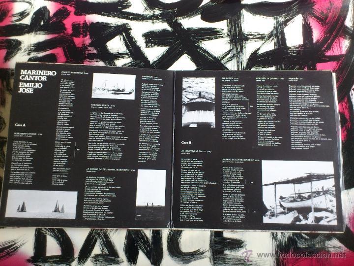 Discos de vinilo: EMILIO JOSE - MARINERO CANTOR - LP - VINILO - BELTER - 1977 - Foto 4 - 52164618
