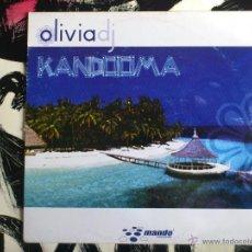 Discos de vinilo: OLIVIA DJ - KANDOOMA - MAXI - VINILO - MANDO RECORDS - 2005. Lote 52164645