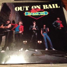 Discos de vinilo: LEGS DIAMOND - OUT ON BAIL LP UK MUSIC FOR NATIONS 85 - HARD ROCK HEAVY METAL. Lote 52164816