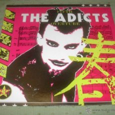 THE ADICTS Fifth Overture UK 1987 LP