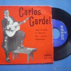Discos de vinilo: CARLOS GARDEL ALMA EN PENA + 3 EP SPAIN 1958 PDELUXE. Lote 52166899