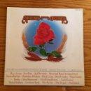 Discos de vinilo: READ AND ROSES DOBLE LP FESTIVAL MUSIC (CROSBY,PETE SEEGER,ROCHES,NASH,ETC) - LP - VINILO - MÚSICA. Lote 52197527