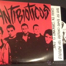 Discos de vinilo: SINGLE EP VINILO ANTIBIOTICOS PUNK ROCK. Lote 52198043