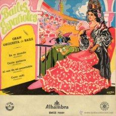 Discos de vinilo: GRAN ORQUESTA DE BAILE, EP, EN ER MUNDO + 3, AÑO 1959. Lote 52277207