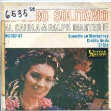 Discos de vinilo - AL CAIOLA & RALPH MARTERIE / EL TORO SOLITARIO / EL CID + 2 (EP 1962) - 52279176