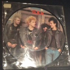 Discos de vinilo: SINGLE EP VINILO GBH GIVE ME FIRE PICTURE DISC PUNK ROCK HARDCORE. Lote 52281538
