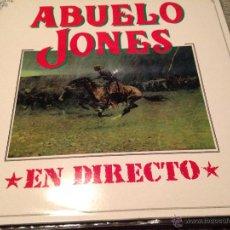 Discos de vinilo: ABUELO JONES - EN DIRECTO LP 3 CIPRESES 92 - BLUEGRASS COUNTRY ROCK. Lote 52283533