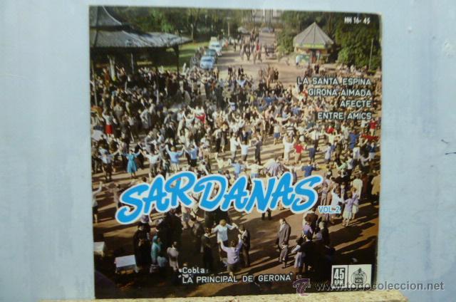 SARDANAS-LA PRINCIPAL DE GIRONA -LA SANTA ESPINA- (Música - Discos de Vinilo - EPs - Étnicas y Músicas del Mundo)