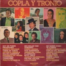 Discos de vinilo: COPLA Y TRONIO .. LP. Lote 52288011