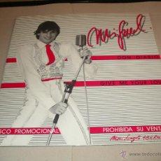 Discos de vinilo: MIGUEL BOSE MAXI SINGLE DON DIABLO PROMOCIONAL CBS ESPAÑA 1980 EX++/MINT. Lote 52292325