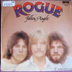 Discos de vinilo: LP - ROGUE - FALLEN ANGELS (SPAIN, BELTER 1976). Lote 52297401