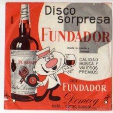 Discos de vinilo: DISCO SORPRESA FUNDADOR 10181 - PASODOBLES. Lote 52302412