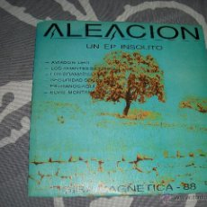 Discos de vinilo: ALEACION - EP 6 TEMAS - GIRA MAGNETICA 88 - EXCELENTE ESTADO. Lote 52302699