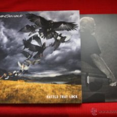 Discos de vinilo: DAVID GILMOUR, RATTLE THAT LOCK, COLUMBIA, SONIC MUSIC, 2015, NUEVO LP DEL LIDER DE PINK FLOYD. Lote 52303055