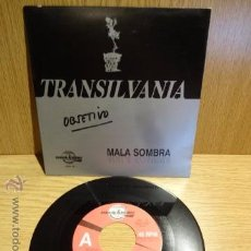 Discos de vinilo: TRANSILVANIA. MALA SOMBRA / SG-PROMO 1 CARA / DIGIMUSIC - 1992. CALIDAD LUJO. ****/****. Lote 52303151