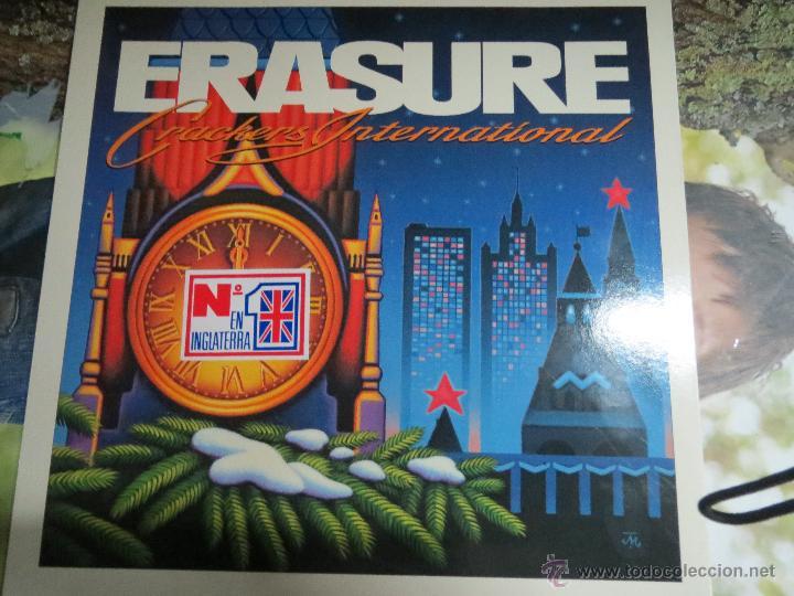 ERASURE CRACKERS INTERNATIONAL. (Música - Discos de Vinilo - Maxi Singles - Otros estilos)