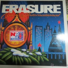Discos de vinilo: ERASURE CRACKERS INTERNATIONAL.. Lote 52306718