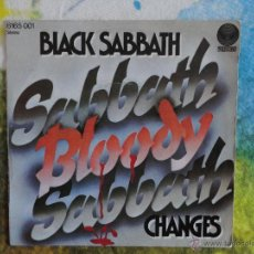 Discos de vinilo: BLACK SABBATH - SABBATH BLOODY SABBATH // SINGLE // 1973 // VINILO A ESTRENAR. Lote 52309221