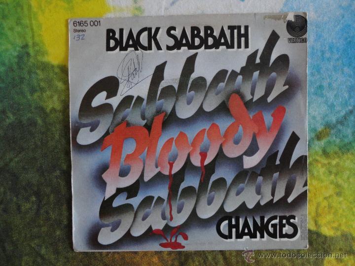 Discos de vinilo: BLACK SABBATH - SABBATH BLOODY SABBATH // SINGLE // 1973 // VINILO A ESTRENAR - Foto 2 - 52309221