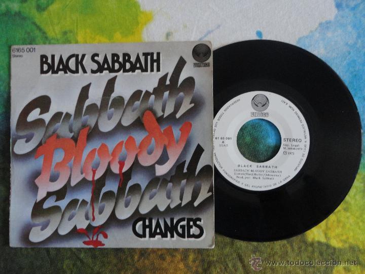 Discos de vinilo: BLACK SABBATH - SABBATH BLOODY SABBATH // SINGLE // 1973 // VINILO A ESTRENAR - Foto 3 - 52309221