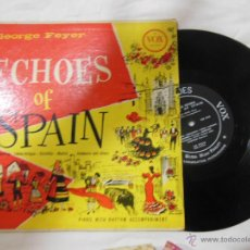 Discos de vinilo: GEORGE FEYER : ECHOES OF SPAIN. 1956 VOX VX 910, MADE IN USA. Lote 52310582