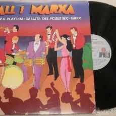 Discos de vinilo: BALL I MARXA ORQUESTRA PLATERIA SALSETA DEL POBLE SEC SIREX - LP ARIOLA 1980. Lote 52310657
